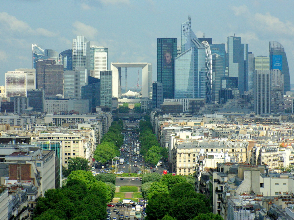 Cbd Of La D 233 Fense From Arc De Triomphe 169 French Moments