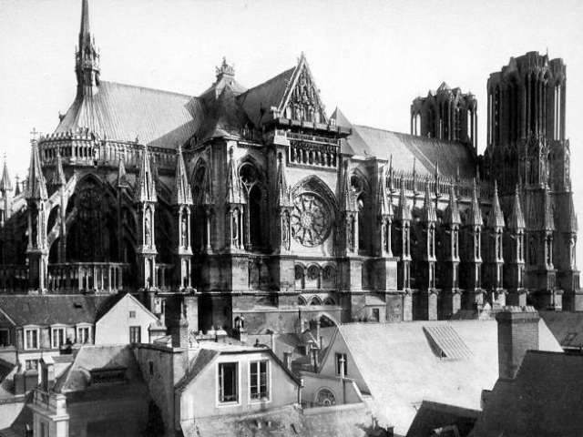 Reims Cathedral Ww1 Reims Cathedral Before Wwi