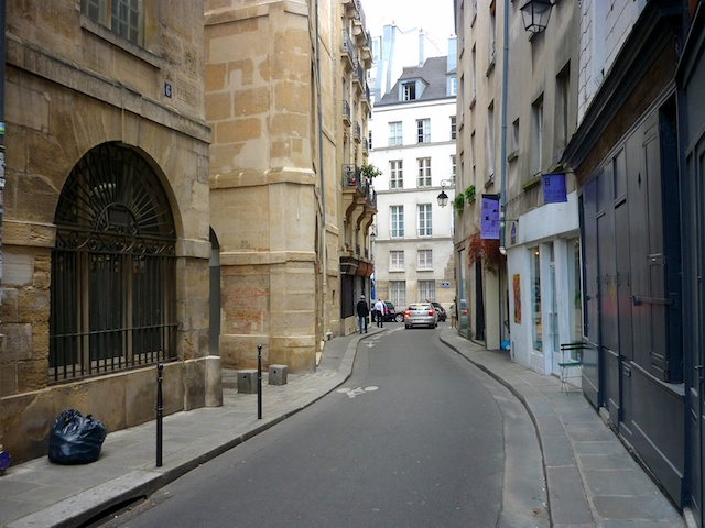 Marais District Paris French Moments