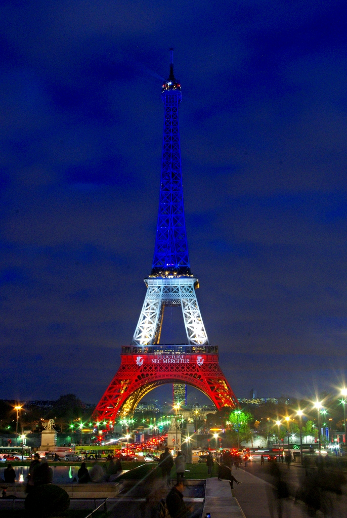 Eiffel Tower Blue White Red 09 169 French Moments French